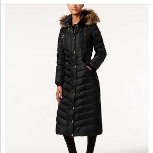 Michael Kors Maxi Puffer Coat black
